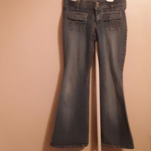 90'S ANGELS FLARE JEANS SIZE 7/8